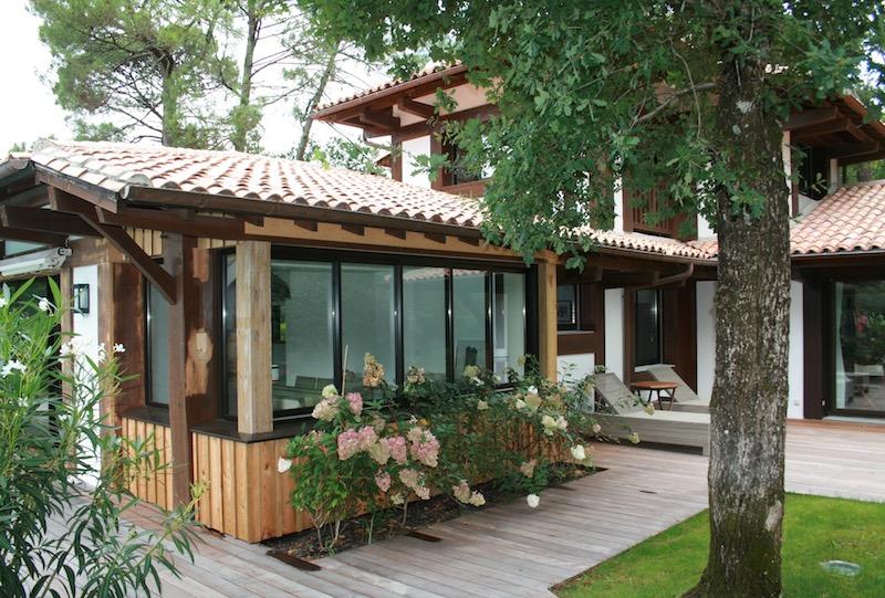 Delphine Gaudé Le Gall architecte extension villa