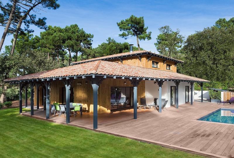 Delphine Gaudé Le Gall Architecte villa pyla